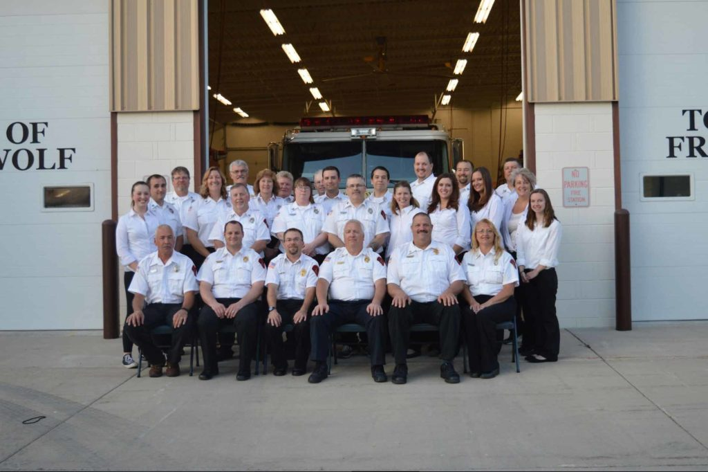 Group Photo of Can Dyne Fire Dept