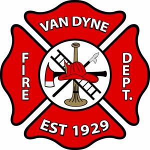 Van Dyne Fire Dept.  Logo